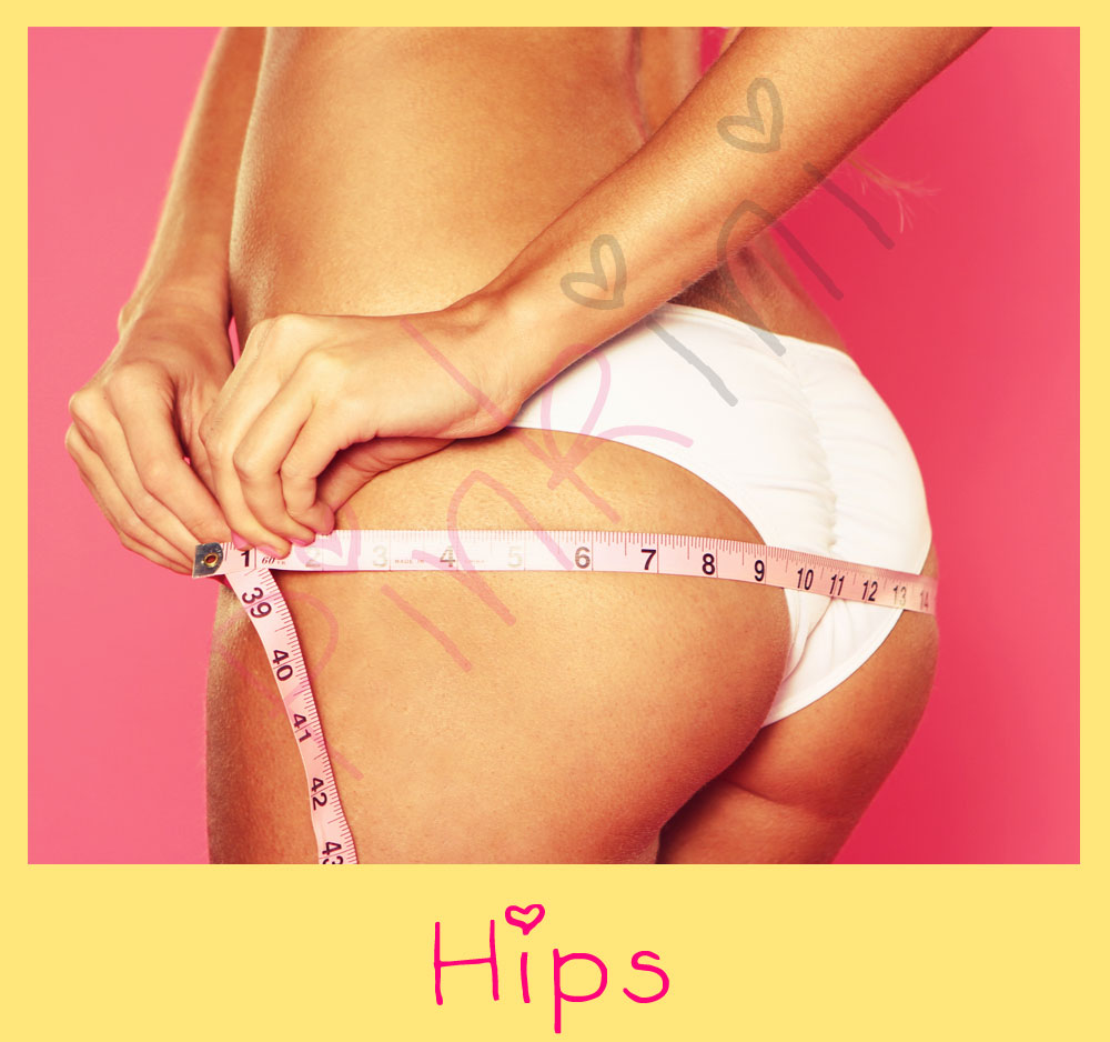 how to clean your hips